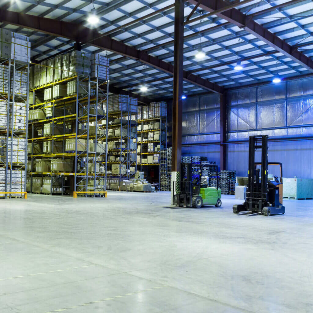 Image of a distribution center